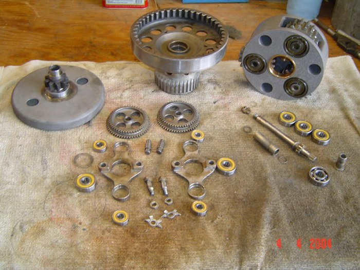Prop Pitch Gearbox