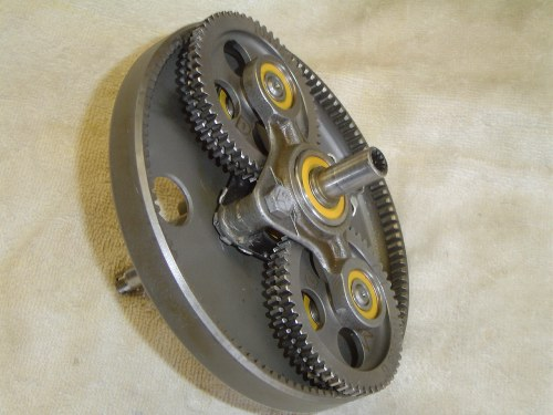 E F on 3 Shaft Gearbox